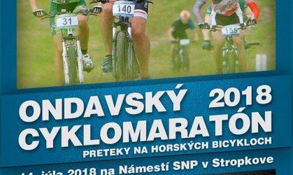 Ondavský cyklomaratón 2018