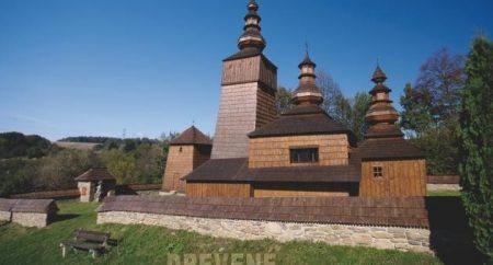 potoky drevený chrám