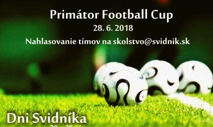 Primátor football cup 2018