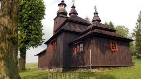 Šemetkovce drevený chrám