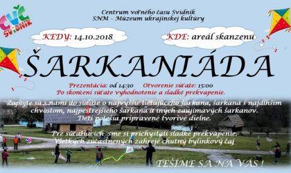 šarkaniáda2018
