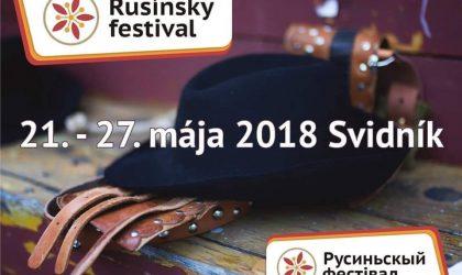 rusínsky festival 2018