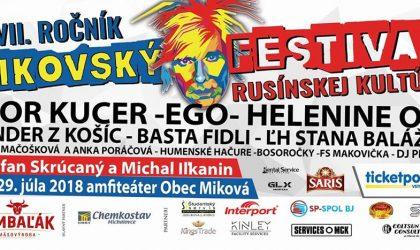 mikovský festival 2018