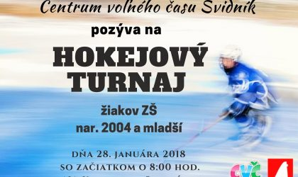 hokejový turnaj žiakov zš
