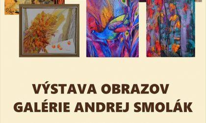 výstava obrazov Andrej Smolák