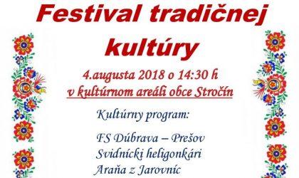 festival tradičnej kultury stročín