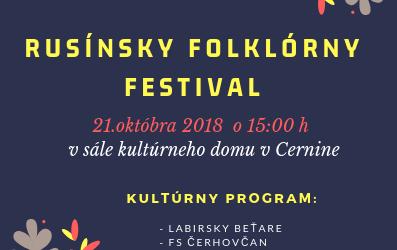 rusinsky festival cernina