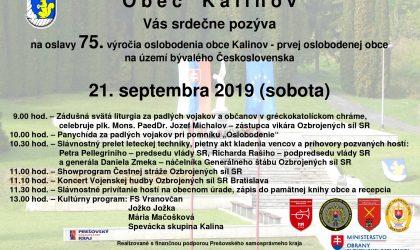 plagát na 75. výročie oslobodenie Kalinova_page-0001